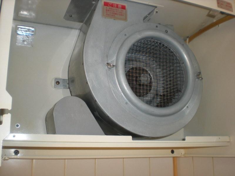 換気扇を洗いました。