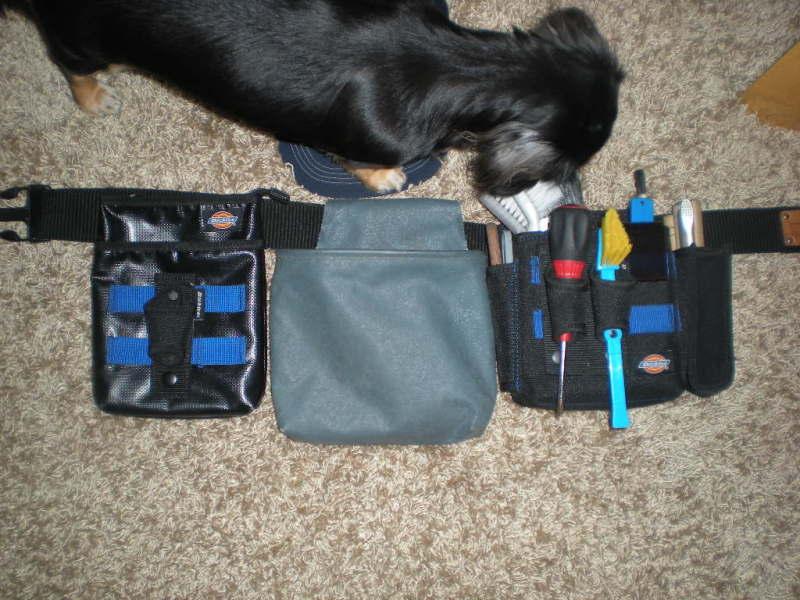 ディッキーズツールバッグに追加してみました。