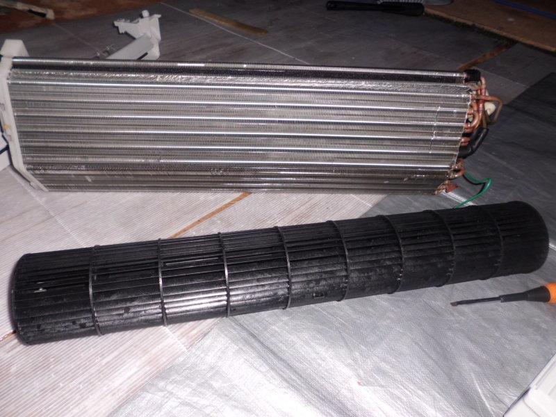 ナショナルエアコン(CS-H286A)完全分解クリーニング