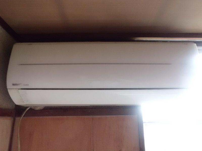 西区でナショナルお掃除エアコン(CS36RGX)クリーニング