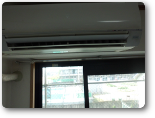 エアコン洗浄前 エアコン カビ汚れ
