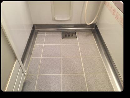 浴室クリーニングできれいになった浴室