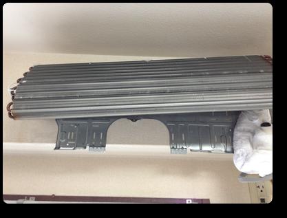 壁掛け完全分解クリーニング で熱交換器もスッキリ洗浄