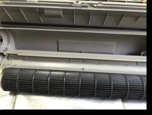 ダイキン一体式ドレンパン・送風ファンも徹底洗浄 クリーン・サービス・ツジイ|エアコン内部の気になる汚れを徹底洗浄